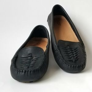 UGG leather Clary loafers Black Size 7.5